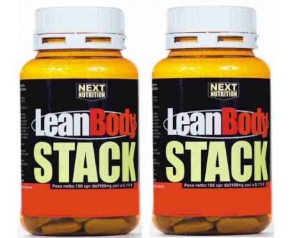 Lean Body Stack 100 comprimés 110 gr