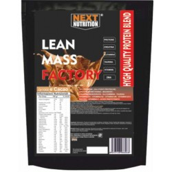 Proteine LEAN MASS FACTORY gr 1000 cacao