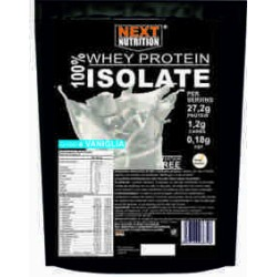 Proteine 100% WHEY PROTEIN ISOLATE  gr 2000 cacao