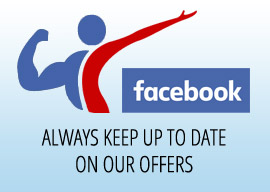 FOLLOW US ON FACEBOOK, ALWAYS KEEP UP TO DATE ON OUR OFFERS